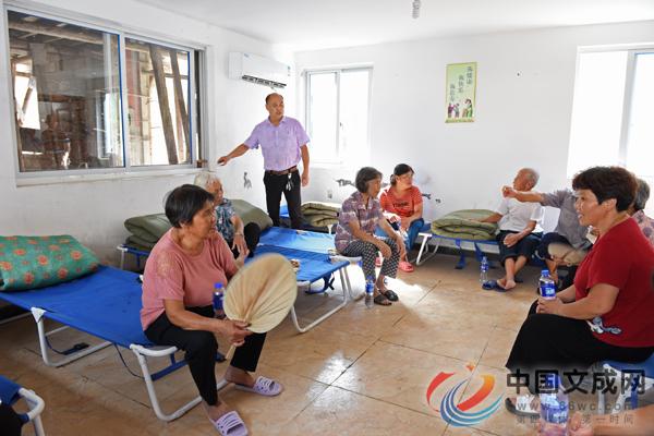 记者探访双桂乡避灾安置点情况