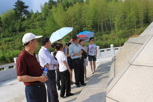 温州文成举办旅游文学主题活动