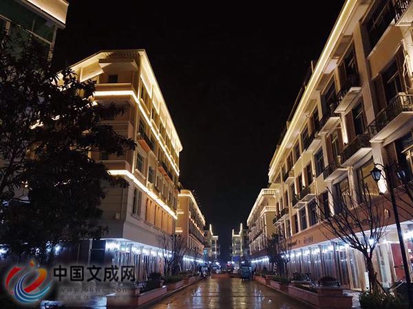 玉壶首条商贸步行街初建成 欧式风格带来城市般体验