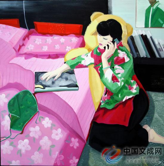 刘梅子:后现代女画家的生活与艺术