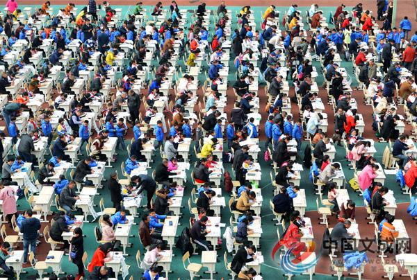 400名选手同场比拼书法技艺