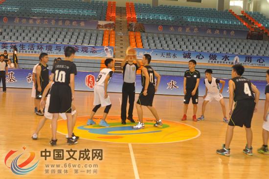 县第十七届中小学生体育节篮球比赛鸣锣开赛