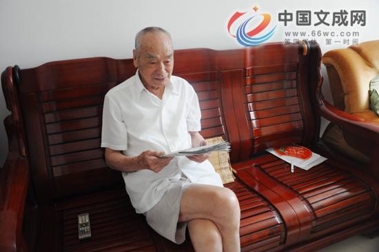 94岁革命战士忆战斗:参加战斗几十次 曾身中两枪