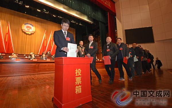 县政协九届一次会议举行第三次全体会议