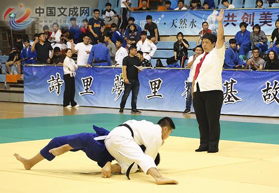 温州市第十六届运动会柔道比赛在我县