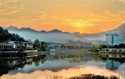 持续开展七期治理 文成15年治出泗溪一河绿水