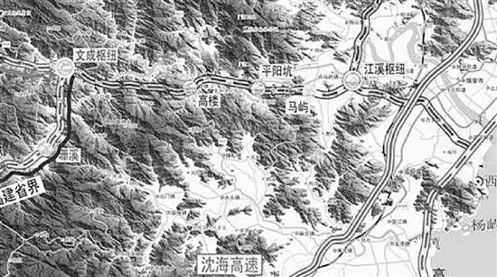 龙丽温高速文瑞段全线施工 计划2019年底通车