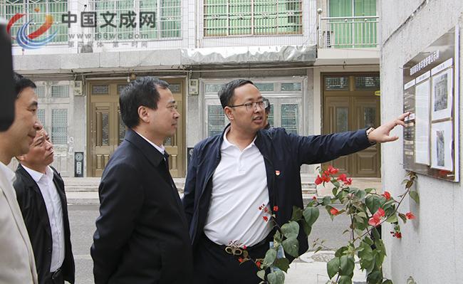 """市委常委、组织部长马永良来文开展""""两万""""""""两千""""行动调研"""