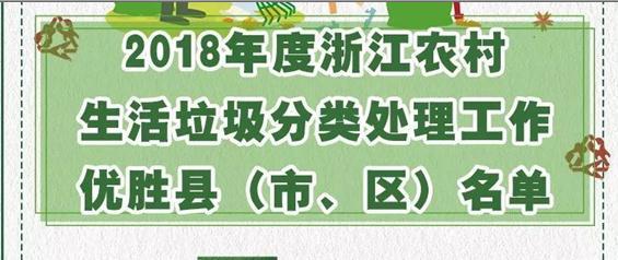 浙江通报表扬46个县(市、区) 文成上榜啦!