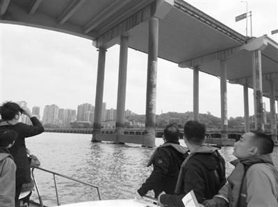 东瓯大桥50#桥墩墩身立柱倾斜超限 市市政管理处将对其进行维修