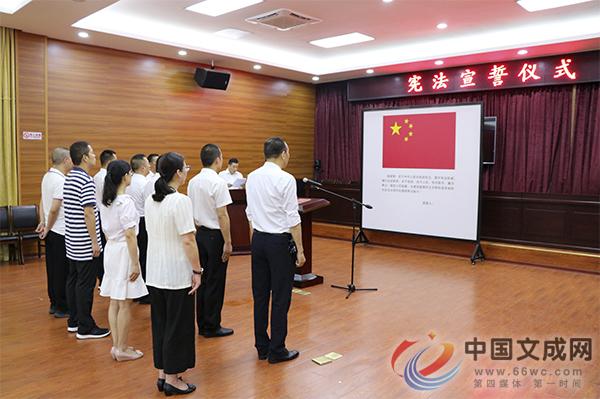 我县举行国家工作人员宪法宣誓仪式