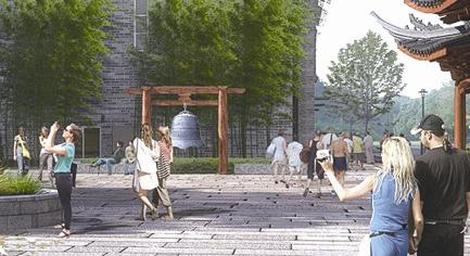 公园路改造提升工程开工 预计春节前建成亮相