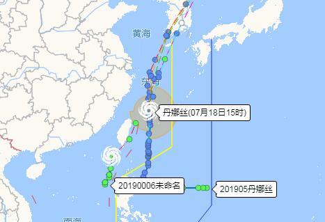 台风对我县影响较弱 周末多阴雨天气