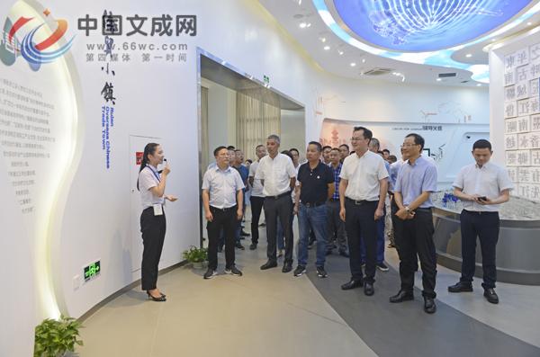 县委书记刘中华率我县党政代表团赴瑞安开展山海协作交流