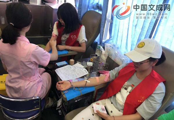 二源镇开展党员志愿者无偿献血活动