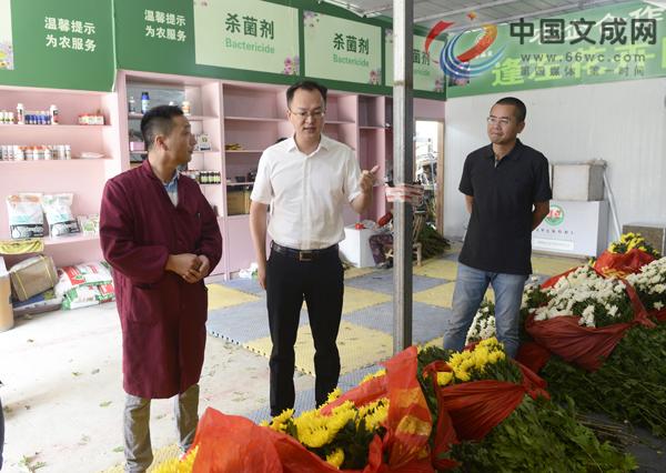县委书记刘中华调研指导我县农业产业化发展