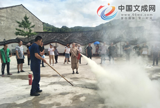 公阳乡开展消防安全演练