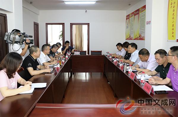 省红十字会党组成员、专职副会长黄元龙一行来文调研