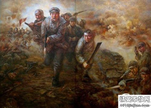 华裔少年听革命讲师讲红军故事