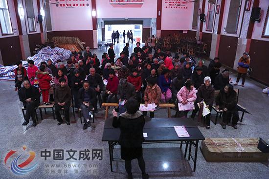 家庭护理人员培训走进凤洋文化礼堂
