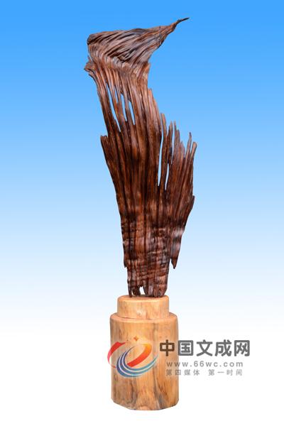 化朽木为神奇 县根雕作品在国际森博会喜获佳绩