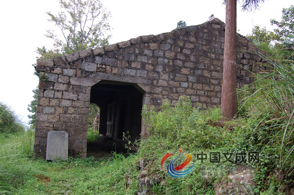 抗倭遗址     公阳旧属瑞安县嘉屿乡五十三都,处于平均海拔500多米的
